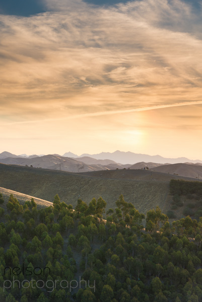 Sunset over Blenheim by Nelson Photographer, D Chadwick